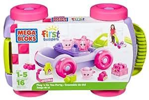 Mega Bloks First Builders Pull-n-Go Tea Party