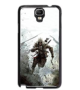 PRINTSWAG WARRIOR Designer Back Cover Case for SAMSUNG GALAXY NOTE 3 NEO