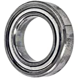 VXB Miniature Ball Bearing, Stainless Steel, Double Shielded, Inch