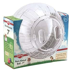 Interpet 861350 Superpet transparenter Laufball, 17.8 cm