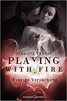 Buchcover Playing with fire, Liebesroman, Conte