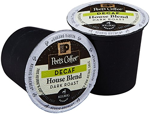 Peet's Coffee Decaf House Blend Single Cup Coffee for Keurig K-Cup Brewers 40 count (Peets Keurig Coffee Cups compare prices)