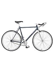 Viking Track Fixed Wheel Bike - Blue, 53 cm
