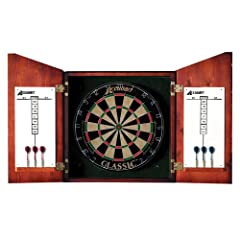 Buy Accudart Union Jack Dartboard Cabinet and Set by Accudart