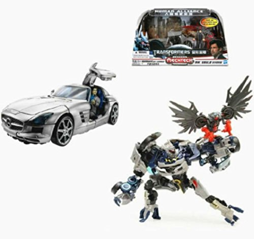 Transformers Dark Of The Moon Human Alliance Soundwave Toy Action Figure New (Miniature Human Figures compare prices)