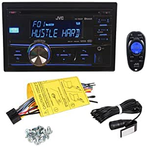JVC KW-R800BT Double Din In-Dash CD/MP3/Dual USB Receiver With Built-in Bluetooth And Pandora iPhone Control