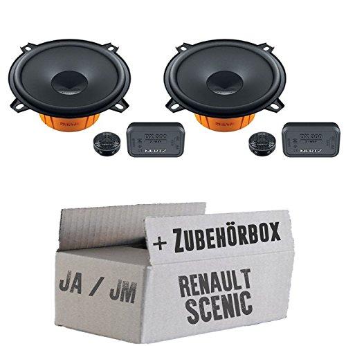 Renault scenic 1 avant-arrière 2 dieci hertz dSK - 130 système de haut-parleurs 13 avec cm