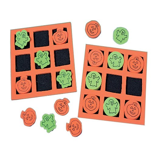 Halloween Tic-Tac-Toe Games