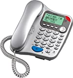 Binatone Lyris 710 Corded Phone with Answer Machine - Silver