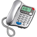 Binatone Lyris 710 Corded Phone with Answer Machine - Silverby Binatone