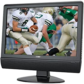 Coby TFTV2224 22-Inch Widescreen LCD HDTV/Monitor with HDMI Input, Black