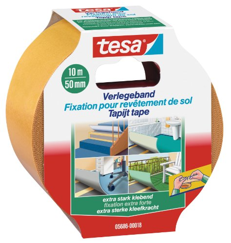tesa-doppelseitiges-Verlegeband-extra-stark-klebend-10m-x-50mm