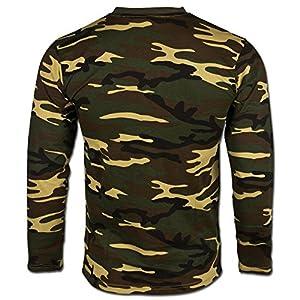 T-shirt manches longues woodland