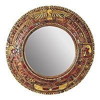 Design Toscano NE64346 Temple of Luxor Egyptian Grand-Scale Mirror Wall Sculpture by Design Toscano