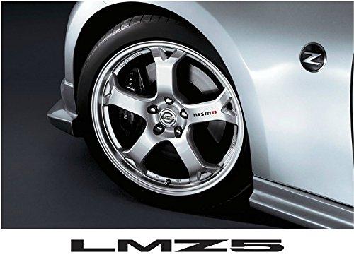NISMO ニスモ LMZ5 フェアレディZ Z34 フロント用アルミホイール シルバー 【品番:D0300-1EK25-SL】