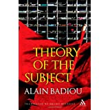 Theory of the Subjectby Alain Badiou