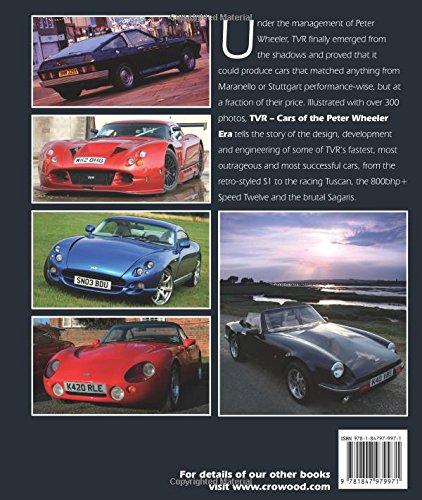 TVR: Cars of the Peter Wheeler Era (Crowood Autoclassics)