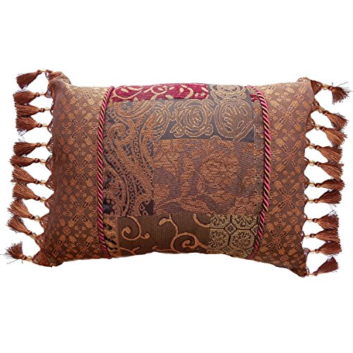 Galleria Red Boudoir Pillow by Croscill