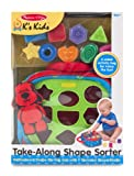 Melissa & Doug Ks Kids Take-Along Shape Sorter Baby Toy