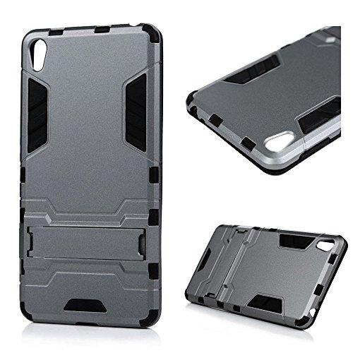 coque-vivo-e5-badalink-case-cover-tpu-souple-pc-plastique-avec-support-anti-rayure-anti-choc-gris