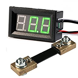 GEREE Green Digital Ammeter LED Display 0.56\