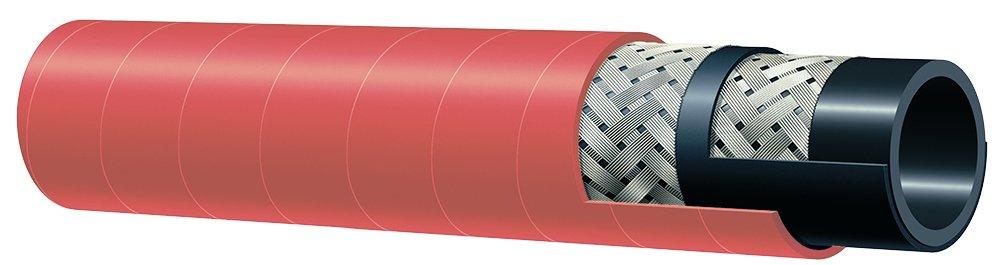 Kuriyama T340AH075X50 EPDM Steam Hose Cover, 270 PSI, 3/4 ID, 1.22 OD, Red id 25mm od 68 2mm 25x68 2x42mm 400752305 eccentricity 4 eccentric bearing