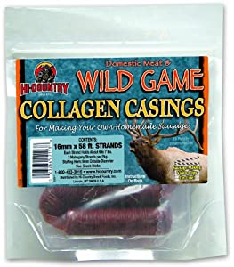 Hi-Country Snack Foods Domestic Meat and WILD GAME 16mm Collagen Casings by Hi-Country Snack Foods