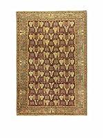 L'Eden del Tappeto Alfombra V.Kayseri Oro / Marrón 202 x 293 cm