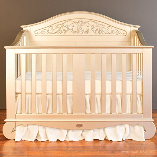 Bratt Decor chelsea lifetime crib antique silver 1