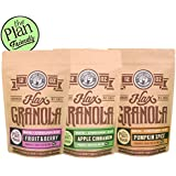 """The Plan"" Friendly Three Pack Flax-Granola"