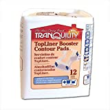 Tranquility TopLiner Booster Pad Medium Diaper Inserts Pk/25