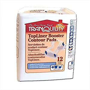 TopLiner Booster Contour Pad - Pack of 12
