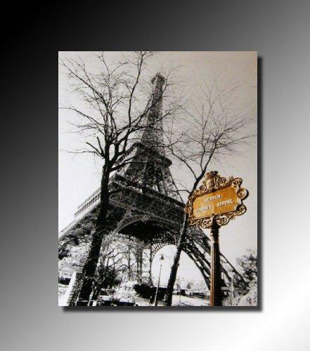 Cadres Tableau Toile Decorative Paris La Tour Eiffel Vue D En Bas