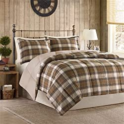 Woolrich Lumberjack Down Alt Mini Comforter Set, Full/Queen, Multicolor
