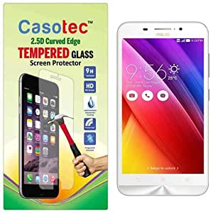 Casotec 2.5D Curved Edge Tempered Glass Screen Protector for Asus Zenfone Max ZC550KL