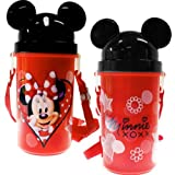 Disney Mickey and Minnie Flatware (Minnie Mouse Red Dot Canteen with Ears)