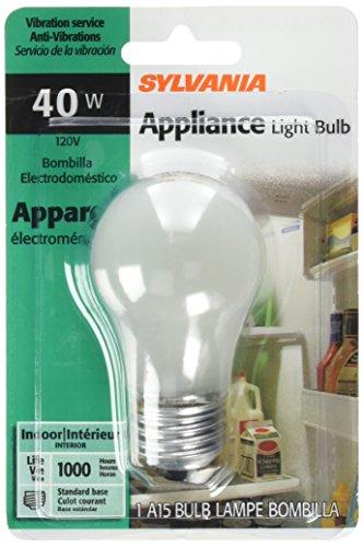 SYLVANIA LIGHTING 10117 40W/A15 Appliance Bulb (Freezer Bulb 40 Watt compare prices)