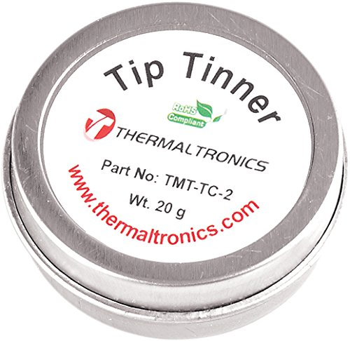 Cheapest Price! Thermaltronics TMT-TC-2 Lead Free Tip Tinner (20g) in 0.8oz Container