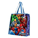 Vandor 26073 Marvel Heroes Large Recycled Shopper Tote, Multicolored