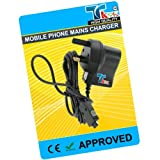 TK9K[TM] - MOBILE PHONE MAINS HOUSE BATTERY CHARGER FOR SAMSUNG ONLY FOR T100 ( SGH-T100 ) UK Spec 3 Pin Charger for NI-MH, LI-ION & LI-POL Batteries. - Rapid charge. - 12 Months Warranty - CE approved - Lightweight - Multi input voltage capability (240v