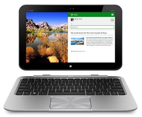 HP Envy X2-11-g090ef PC Portable Convertible  11,6″ (29,4 cm)  Intel Atom 1.8 GHz 64 Go SSD Argent Windows 8