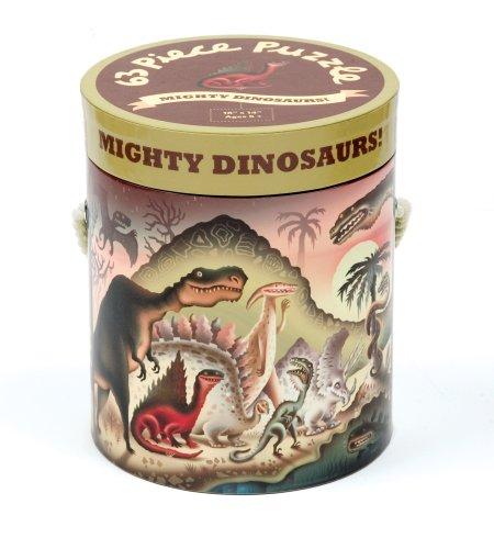 Cheap Fun Mudpuppy Mighty Dinosaurs 63 Piece Puzzle (735320667)