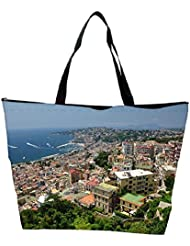 Snoogg City From The Top Designer Waterproof Bag Made Of High Strength Nylon - B01I1KLHSY