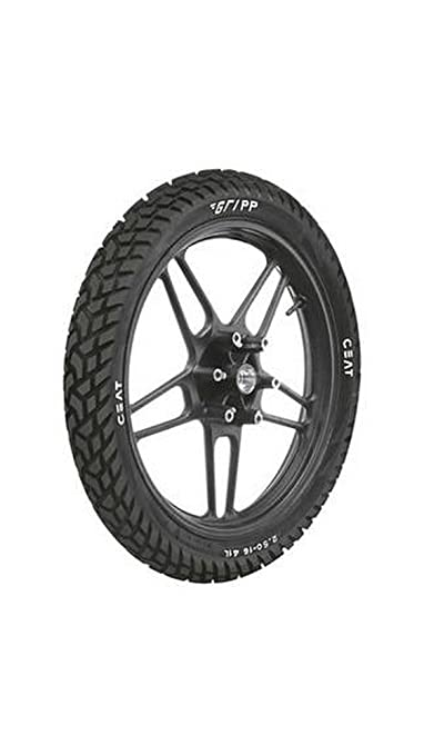 Ceat Gripp P3.00 - 18 Tube-Type Bike Tyre, Rear (Home Delivery)