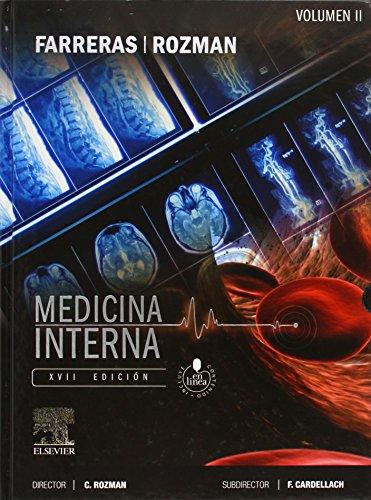 Farreras-Rozman. Medicina Interna. 2 Vols. + acceso online (Spanish Edition)