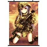 Angel Beats! Anime Wall Scroll Poster Tachibana Kanade Tenshi(16''*24'') Support Customized