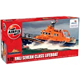 Airfix A07280 RNLI Severn Class Lifeboat 1:72 Scale Launch Series 7 Model Kit