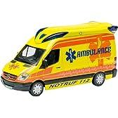 Schuco 1/87 メルセデス・ベンツ スプリンター 2 救急車 イエロー