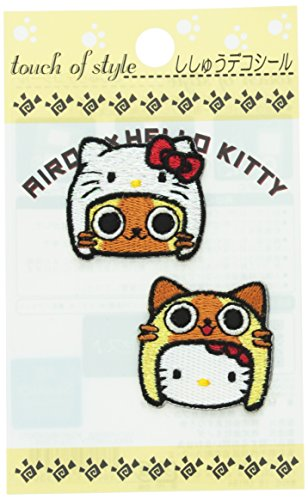 Sanrio Hello Kitty x Monster Hunter Airou Patch Sticker (Face) - 1
