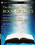img - for The Reading Teacher's Book of Lists (J-B Ed: Book of Lists) by Fry Edward B. Kress Jacqueline E. Fountoukidis Dona Lee (2000-02-01) Paperback book / textbook / text book